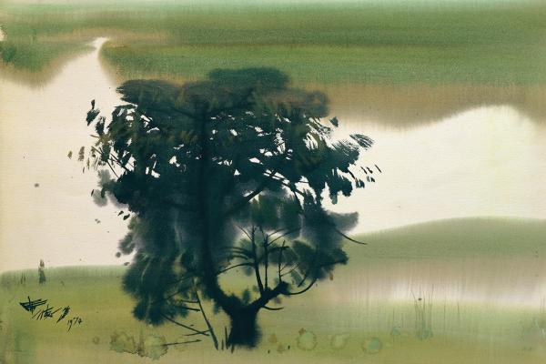 席德進特展「歷史就是我們自己」:以一生的畫作獻給台灣鄉土風情