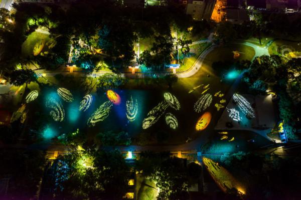 探索礁溪之心:從幾米的毛毛兔到跑馬古道公園夜間聲光秀