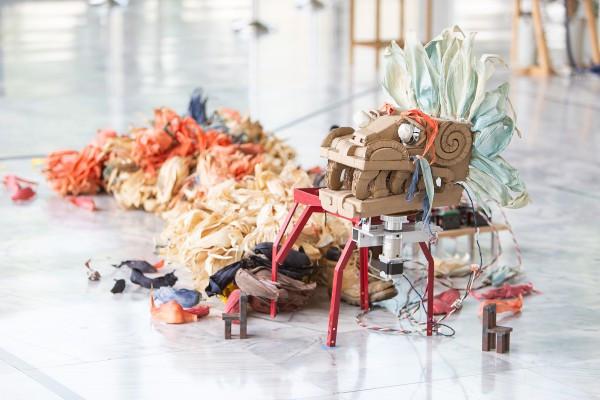 從台北雙年展到《愛×死×機器人》:以高科技的機械嵌合體轉生古老神祇
