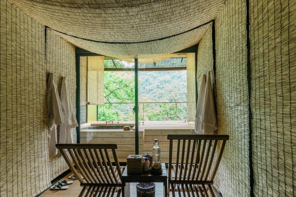 沉浸烏來隱世祕境「馥森 阪治」:文化與自然共生的夢幻療浴場