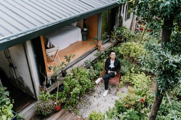 建築空間設計師邱柏文的家:有機生長的溫州街日式老宅
